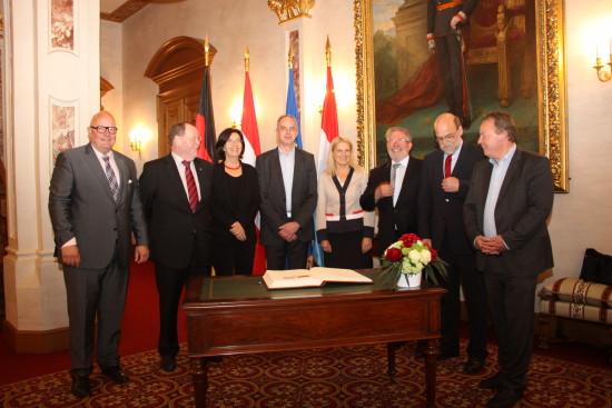 Europäische Gespräche in Luxemburg