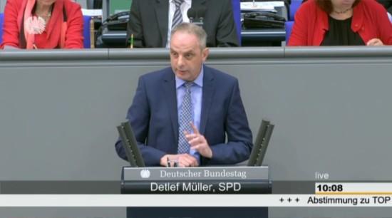 Die Rede zur Weiterentwicklung der transatlantischen Beziehungen von Detlef Müller| MdB im Deutschen Bundestag am 15.04.2016