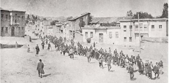 Vertreibung und Vernichtung von Armeniern gedenken