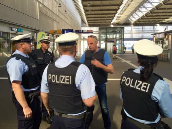 Detlef Müller | MdB im Einsatz mit der Bundespolizei Chemnitz