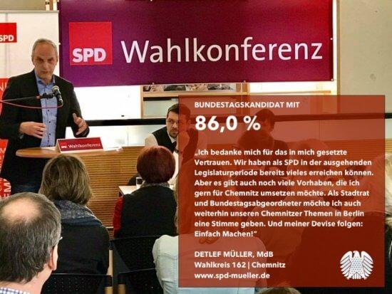 Detlef Müller als Direktkandidat bestätigt.