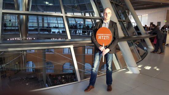 Detlef Müller steht zum neuen Lohngerechtigkeitsgesetz