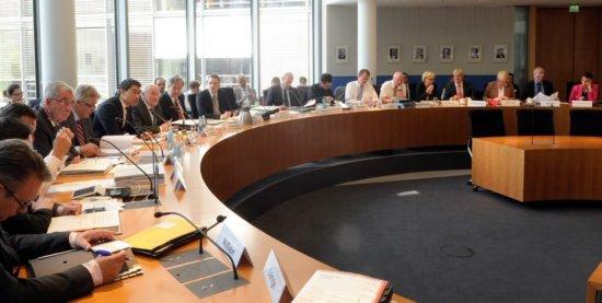 Bild vom Wirtschaftsauschuss im Deutschen Bundestag